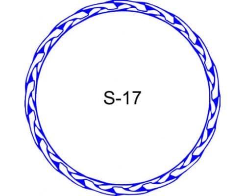 Косичка для печати образец S-17