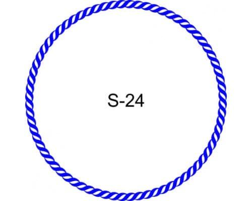 Косичка для печати образец S-24