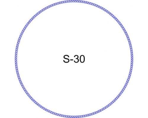 Косичка для печати образец S-30