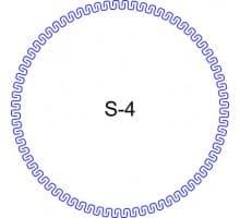 Косичка для печати образец S-4