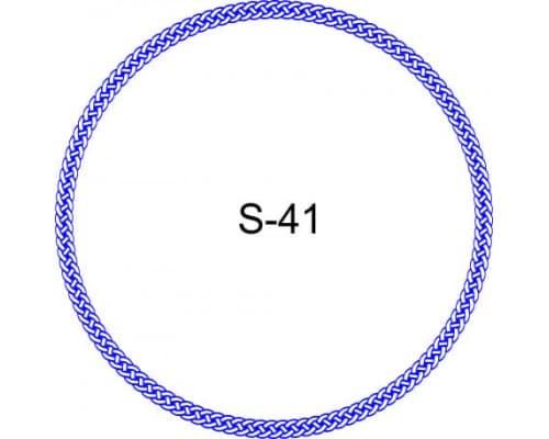Косичка для печати образец S-41