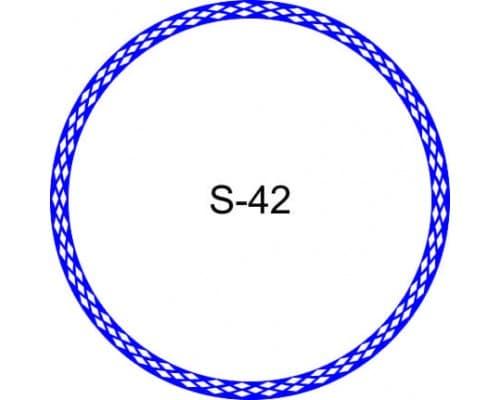 Косичка для печати образец S-42