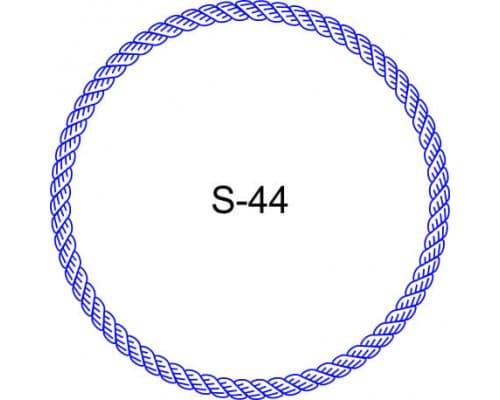 Косичка для печати образец S-44