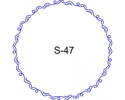 Косичка для печати образец S-47