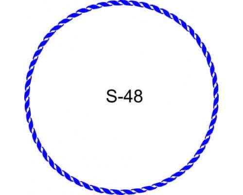 Косичка для печати образец S-48