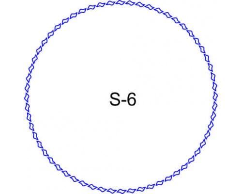 Косичка для печати образец S-6