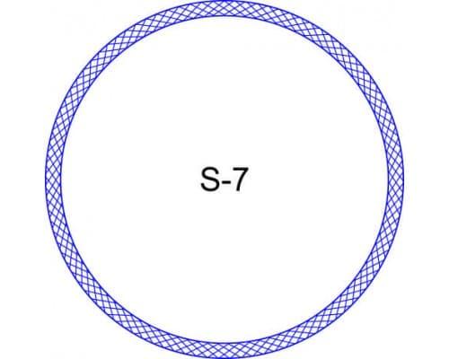 Косичка для печати образец S-7