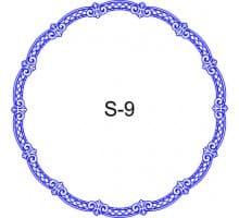 Косичка для печати образец S-9