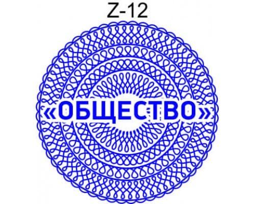 Защитная сетка для печати образец Z-12
