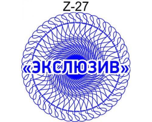 Защитная сетка для печати образец Z-27