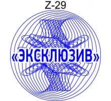 Защитная сетка для печати образец Z-29