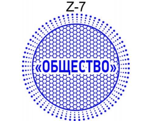 Защитная сетка для печати образец Z-7
