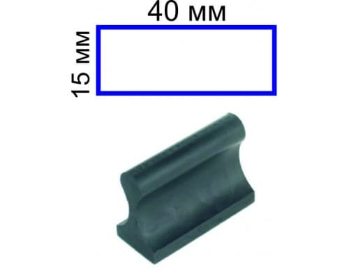Штамп на ручной оснастке 15*40 (цена с учетом изготовления)