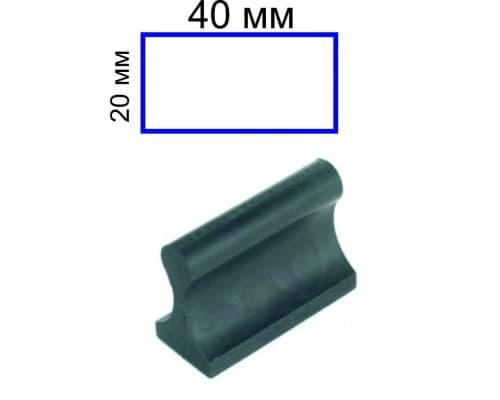 Штамп на ручной оснастке 20*40 мм (цена с учетом изготовления)