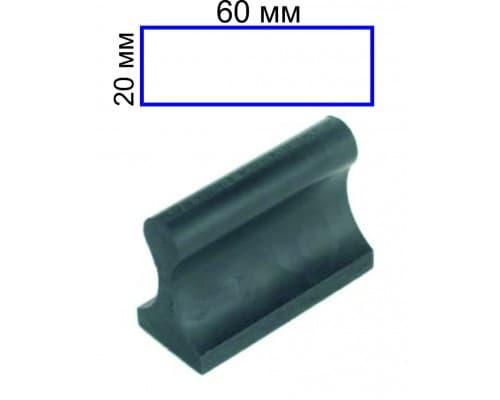 Штамп на ручной оснастке 20*60 мм (цена с учетом изготовления)